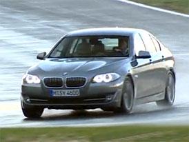 Video: BMW řady 5 (F10) – Nový sedan na závodním okruhu