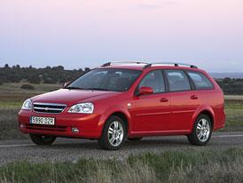 Chevrolet Lacetti: V akci od 249.900,- Kč, kombi od 259.900,- Kč
