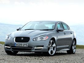 Jaguar XF Diesel S: Dva nové pakety a adaptivní podvozek jako standard