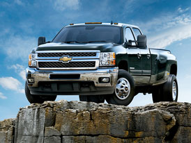 Chevrolet Silverado Heavy Duty Truck: Těžká váha v novém pro rok 2011