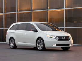 Honda Odyssey: Čtvrtá generace amerického MPV zatím jako koncept