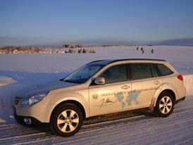 Subaru Outback partnerem na cestách fotografa Jiřího Kolbaby