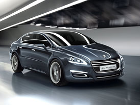 5 by Peugeot: Podoba nové 508 se odhalí v Ženevě
