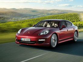 Porsche Panamera: Základní model s motorem V6 stojí 2.073.000,-Kč