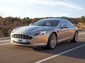 Aston Martin Rapide: Čtyřdveřové kupé ve velké fotogalerii