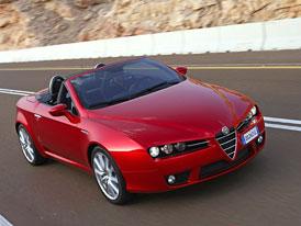 Alfa Romeo Spider: Nové motory 1,8 T (968.000,- Kč) a 2,0 JTD (953.000,- Kč)