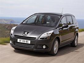 Peugeot 5008: Ceny na českém trhu začínají na 434.900,-Kč
