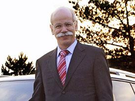 Dieter Zetsche povede Daimler až do roku 2013