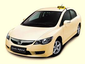 Honda nabídne své hybridy německým taxislužbám