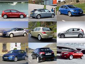 Přehled cen nových aut na českém trhu: Nižší střední třída do 300 tisíc Kč (únor 2010)