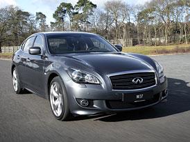 Infiniti M v Evrop�: Benzinov� a dieselov� V6, pozd�ji i hybrid