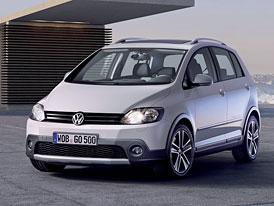 VW CrossGolf: Od dubna s novou tváří