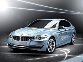 BMW Concept 5 ActiveHybrid: Třetí z mnichovských hybridů se představí v Ženevě