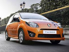 Renault Twingo 2010: Ještě nižší spotřeba a drobné stylistické změny