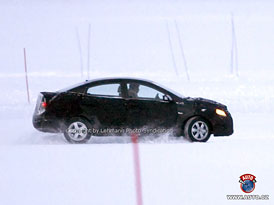 Spy Photos: Nový Hyundai Accent jako čtyřdveřové kupé