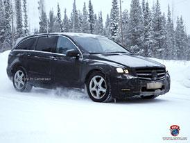 Spy Photos: Mercedes-Benz R - Poslední foto před premiérou