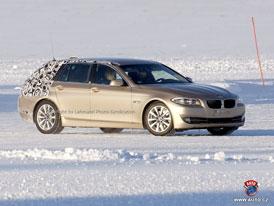 Spy Photos: BMW 5 Touring - internetová premiéra již tuto něděli