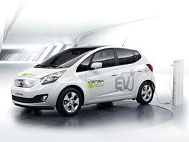Kia Venga EV: Elektrická verze přijede v roce 2012