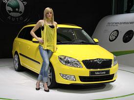 Škoda Fabia 2010: První ženevské dojmy