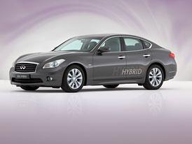 Infiniti M35 Hybrid: Premiéra v Ženevě, na trh za rok