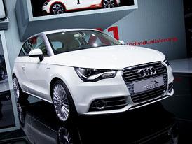 Audi A1 e-tron: Wankel v roli záložního zdroje