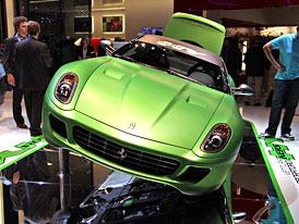 Ferrari 599 HY-KERS Vettura Laboratorio: Cavallino rampante jako hybrid