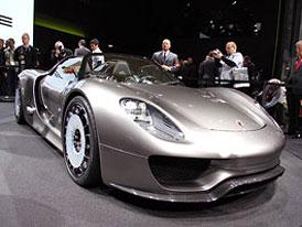 Porsche 918 Spyder: Hybridní nástupce Carrery GT