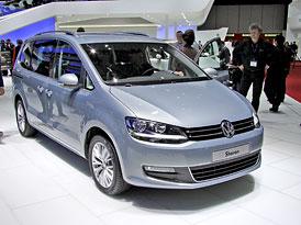 Volkswagen Sharan: První ženevské dojmy
