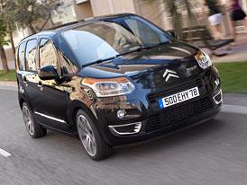 Citroën C3 Picasso e-HDi: Stop&Start a střecha ze solárních panelů