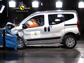 Euro NCAP 2010:  Citroën Nemo – Jen tři hvězdy