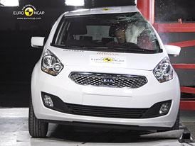 Euro NCAP 2010:  Kia Venga – Čtyři hvězdy a jeden problém