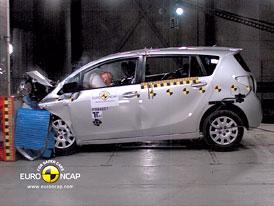 Euro NCAP 2010:  Toyota Verso � Prvn� p�tihv�zdi�kov� v�z podle zp��sn�n� metodiky
