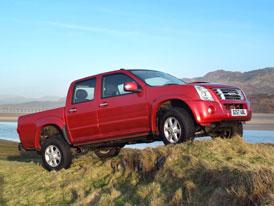 Isuzu se vrací na český trh, nabízí pick-up D-Max