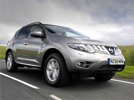Nissan Murano dostane diesel (2,5 dCi, 140 kW) až v září 2010