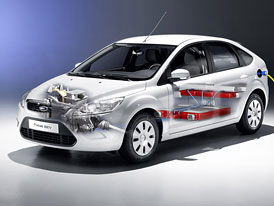 Ford Focus BEV: Sériový elektrický Focus přijde do Evropy v roce 2012