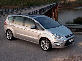 Ford S-Max: Ceny po faceliftu začínají na 609.900,- Kč, PowerShift bez příplatku