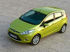 Ford Fiesta: Akční ceny začínají na 219.990,- Kč, pětidveřová od 234.990,- Kč