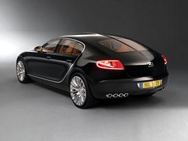 Bugatti 16C Galibier Concept: Šestnáctiválcová limuzína opět na scéně, tentokrát v černém