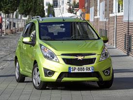 Chevrolet Spark oficiálně na českém trhu, další modely pro rok 2011 potvrzeny