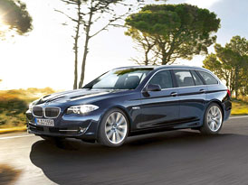 BMW 5 Touring: Velké kombi z Mnichova (nové foto)