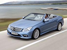Mercedes-Benz E Cabriolet na českém trhu: První cena 1,182 milionu Kč (nové foto)