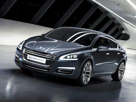 Peugeot 508: Světová premiéra na podzim v Paříži, v prodeji od roku 2011
