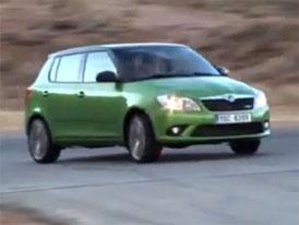 Video: Škoda Fabia RS – Rychlá novinka v pohybu