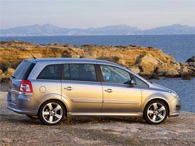 Opel Zafira po slevě: Dobře vybavené MPV za 400 tisíc Kč