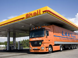 Shell Diesel Extra na �erpac�ch stanic�ch v �R