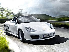 Porsche Boxster Spyder: Na českém trhu za 1,743 milionu Kč