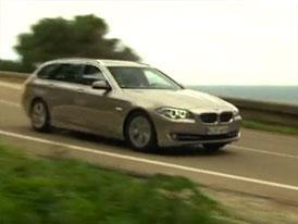 Video: BMW 5 Touring � J�zda s nov�m kombi