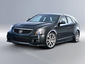 Cadillac CTS-V Sport Wagon: Kompresorový 6,2 V8 také s karoserií kombi