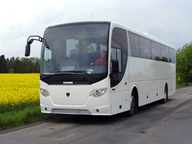 Test: Scania OmniExpress H - Mezim�stsk� lev