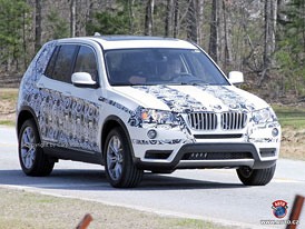 Spy Photos: Nov� BMW X3 (F25) � Nov� fotografie